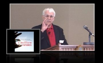"""Donald Cameron speaks about his book """"A Million Futures"""""""