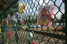 Strathcona Fence Art